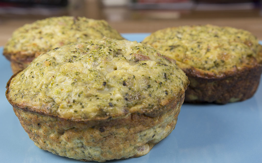 Broccoli & Bacon Egg Muffins