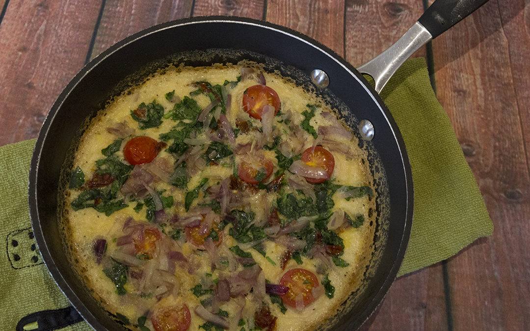 Italian Omelette with Sundried Tomatoes