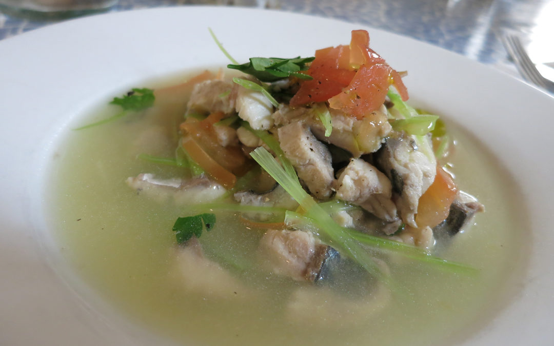 Bourride of Mackerel Soup