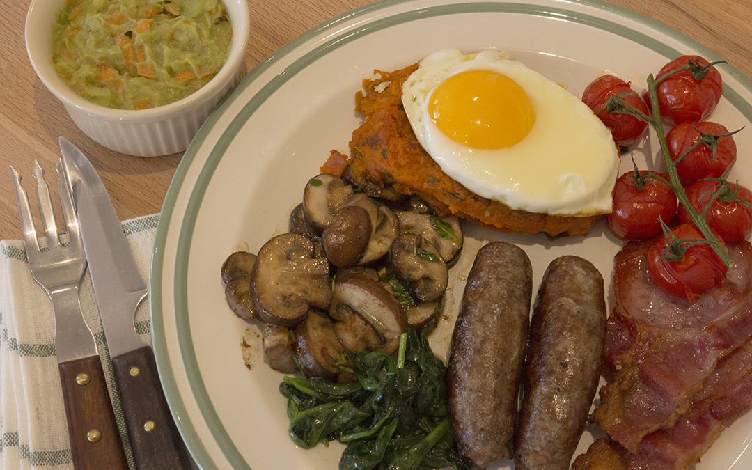 Paleo Full English Breakfast