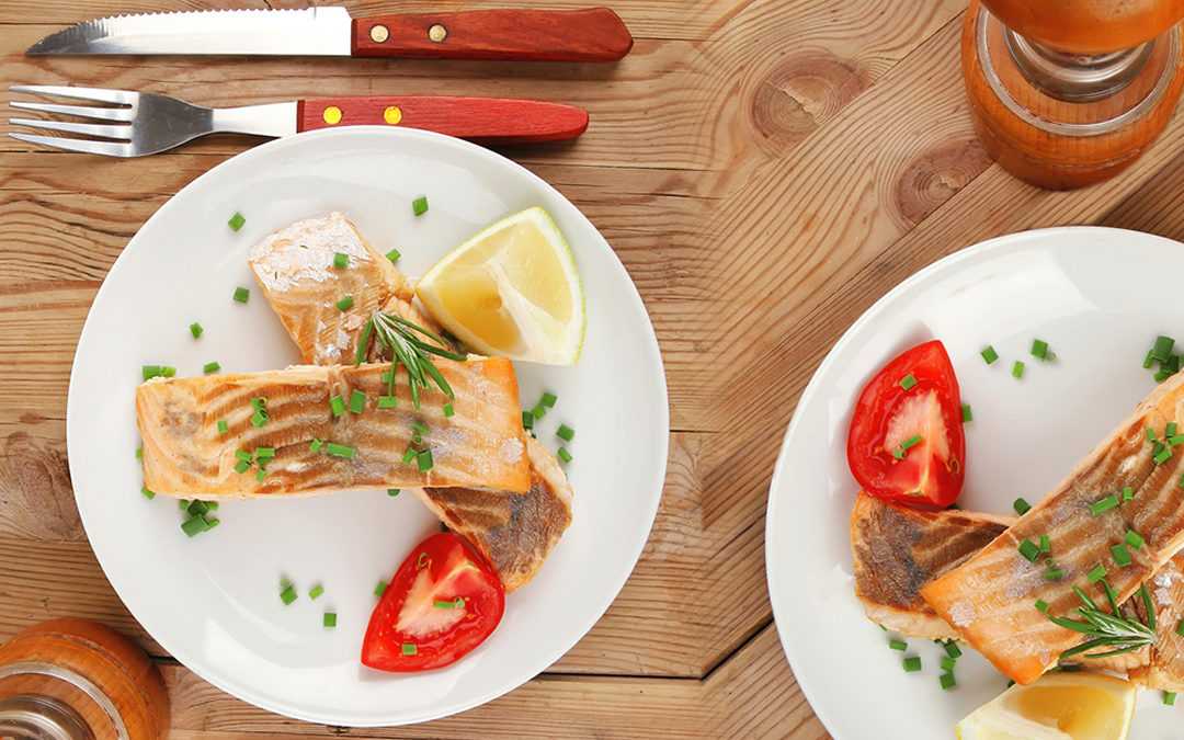 Pan Fried Wild Salmon