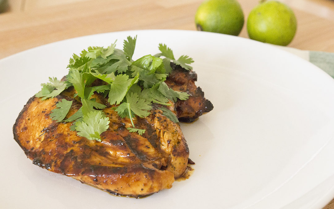 Paleo Coconut Lime Chicken